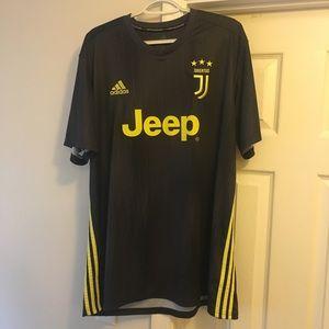 ADIDAS JEEP Juventus Jersey Soccer Men's 2XL